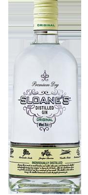 Sloane's Dry Gin Bottle
